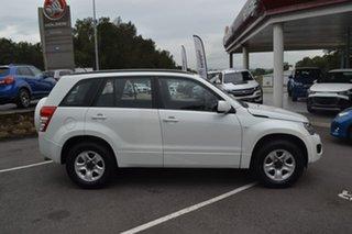 2013 Suzuki Grand Vitara JB MY13 Urban 2WD White 5 Speed Manual Wagon