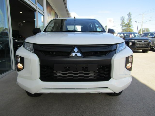 Demo Mitsubishi Triton MR MY19 GLX Double Cab, 2019 Mitsubishi Triton MR MY19 GLX Double Cab White 6 Speed Sports Automatic Utility