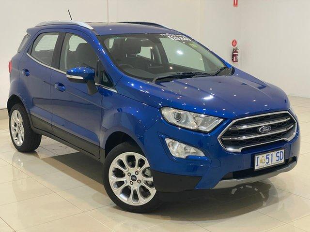 Used Ford Ecosport BL 2019.25MY Titanium, 2019 Ford Ecosport BL 2019.25MY Titanium Blue 6 Speed Automatic Wagon