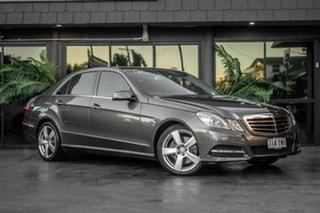 2010 Mercedes-Benz E-Class W212 E250 CGI Avantgarde Grey 5 Speed Sports Automatic Sedan.