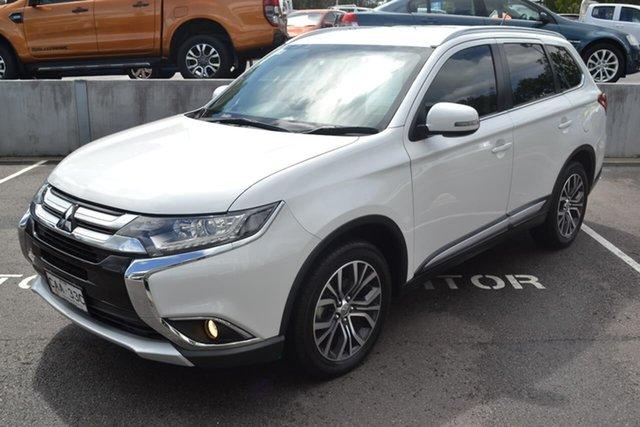 Used Mitsubishi Outlander ZK MY16 LS 4WD, 2015 Mitsubishi Outlander ZK MY16 LS 4WD White 6 Speed Constant Variable Wagon