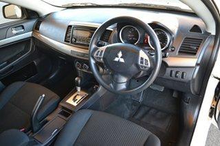 2013 Mitsubishi Lancer CJ MY13 ES Sportback White 6 Speed Constant Variable Hatchback.