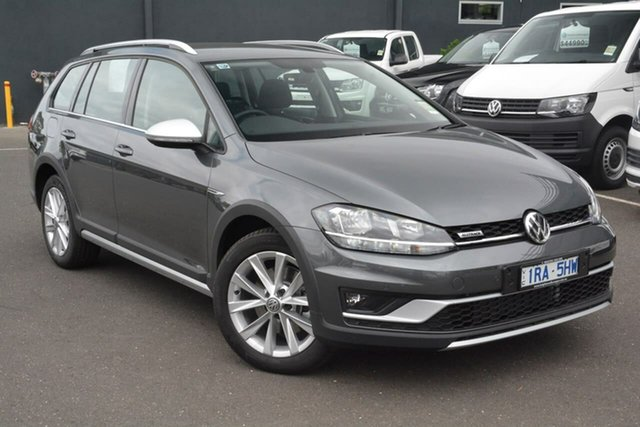 Demo Volkswagen Golf 7.5 MY19.5 Alltrack DSG 4MOTION 132TSI, 2019 Volkswagen Golf 7.5 MY19.5 Alltrack DSG 4MOTION 132TSI Grey 6 Speed