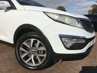 2014 Kia Sportage SL MY14 Si 2WD Premium White 6 Speed Sports Automatic SUV.