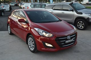 2014 Hyundai i30 GD3 Series II MY16 Active Red 6 Speed Sports Automatic Hatchback.