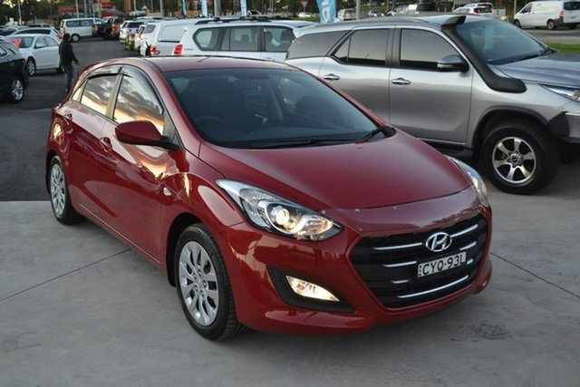 Used Hyundai i30 GD3 Series II MY16 Active, 2014 Hyundai i30 GD3 Series II MY16 Active Red 6 Speed Sports Automatic Hatchback