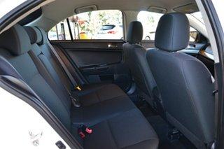 2013 Mitsubishi Lancer CJ MY13 ES Sportback White 6 Speed Constant Variable Hatchback