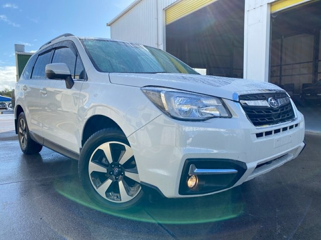 Used Subaru Forester S5 MY19 2.5i-L CVT AWD, 2018 Subaru Forester S5 MY19 2.5i-L CVT AWD Crystal White 7 Speed Constant Variable Wagon