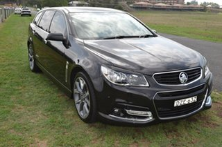 2014 Holden Commodore VF SS V Black Sports Automatic.