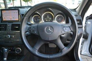 2010 Mercedes-Benz C-Class W204 MY10 C250 CGI Avantgarde 5 Speed Sports Automatic Sedan