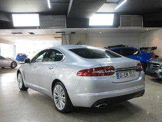 2012 Jaguar XF X250 MY12 Premium Luxury Silver 8 Speed Sports Automatic Sedan