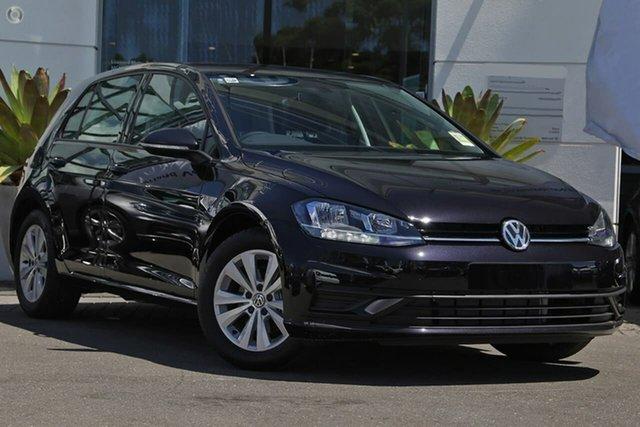 Demo Volkswagen Golf 7.5 MY20 110TSI DSG Trendline, 2020 Volkswagen Golf 7.5 MY20 110TSI DSG Trendline Black 7 Speed Sports Automatic Dual Clutch