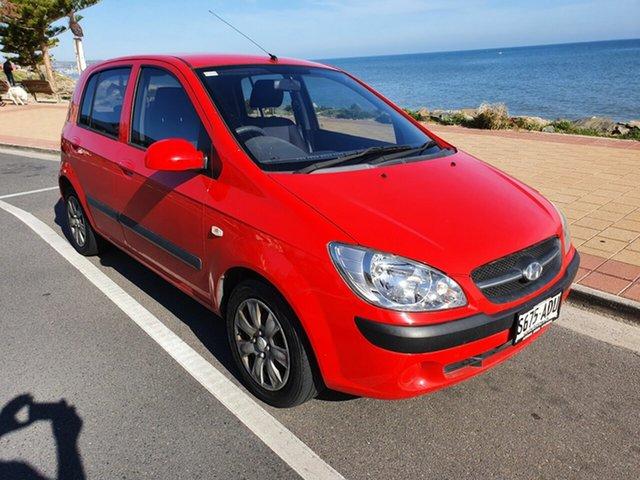 Used Hyundai Getz TB MY09 S, 2009 Hyundai Getz TB MY09 S Red 5 Speed Manual Hatchback