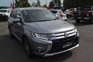 2015 Mitsubishi Outlander ZK MY16 XLS 4WD Grey 6 Speed Sports Automatic Wagon.