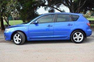 2004 Mazda 3 BK10F1 Maxx Sport Blue 4 Speed Sports Automatic Hatchback.