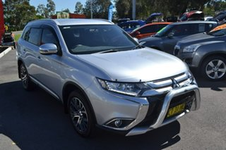 2016 Mitsubishi Outlander ZK LS Silver Constant Variable.