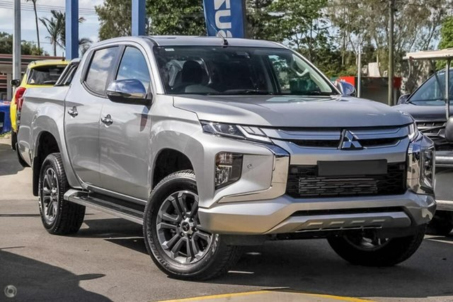 Demo Mitsubishi Triton MR MY19 GLS Double Cab, 2019 Mitsubishi Triton MR MY19 GLS Double Cab Silver 6 Speed Sports Automatic Utility