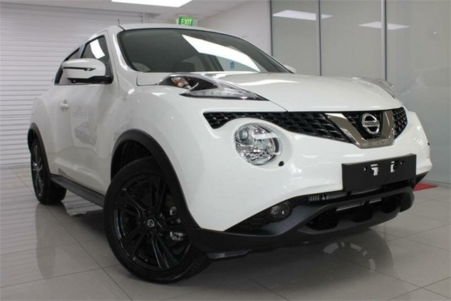 Used Nissan Juke F15 Series 2 TI-S, 2018 Nissan Juke F15 Series 2 TI-S White 1 Speed Constant Variable Hatchback