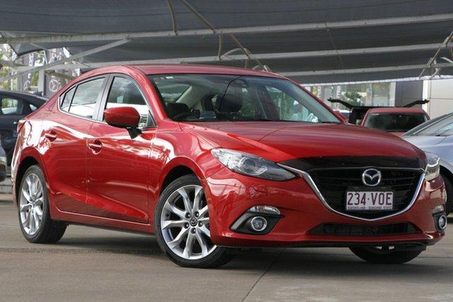 Used Mazda 3 BM5238 SP25 SKYACTIV-Drive GT, 2014 Mazda 3 BM5238 SP25 SKYACTIV-Drive GT Soul Red 6 Speed Sports Automatic Sedan