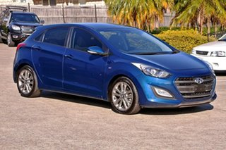 2015 Hyundai i30 GD3 Series II MY16 SR Blue 6 Speed Sports Automatic Hatchback.