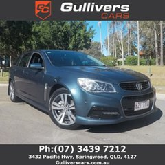 2014 Holden Commodore VF SV6 Blue 6 Speed Automatic Wagon.