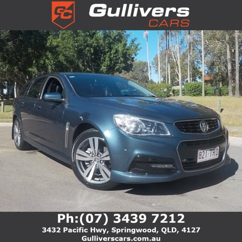 Used Holden Commodore VF SV6, 2014 Holden Commodore VF SV6 Blue 6 Speed Automatic Wagon