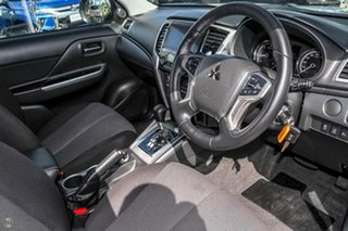 2019 Mitsubishi Triton MR MY19 GLS Double Cab Silver 6 Speed Sports Automatic Utility
