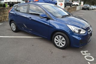 2015 Hyundai Accent RB3 MY16 Active Blue 6 Speed Constant Variable Sedan.