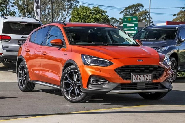 Used Ford Focus SA 2020.25MY Active, 2019 Ford Focus SA 2020.25MY Active Orange 8 Speed Automatic Hatchback