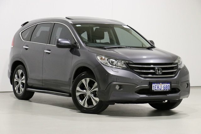 Used Honda CR-V 30 MY14 VTi-L (4x4), 2013 Honda CR-V 30 MY14 VTi-L (4x4) Grey 5 Speed Automatic Wagon