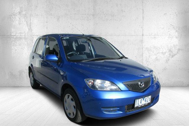 Used Mazda 2 DY10Y1 Neo, 2004 Mazda 2 NEO Neo Winning Blue 4 Speed Automatic Hatchback