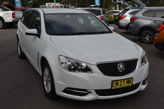 2017 Holden Commodore VF II MY17 Evoke Sportwagon White 6 Speed Sports Automatic Wagon.