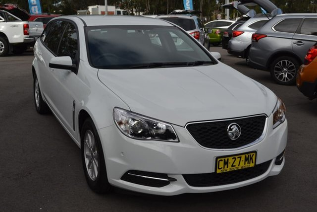 Used Holden Commodore VF II MY17 Evoke Sportwagon, 2017 Holden Commodore VF II MY17 Evoke Sportwagon White 6 Speed Sports Automatic Wagon