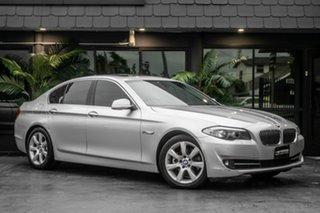 2010 BMW 5 Series F10 528i Steptronic Silver 8 Speed Sports Automatic Sedan.
