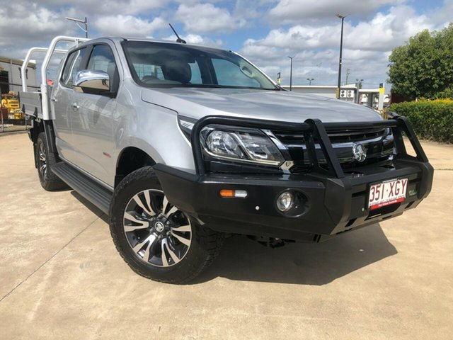 Used Holden Colorado RG MY17 LTZ Pickup Crew Cab, 2017 Holden Colorado RG MY17 LTZ Pickup Crew Cab Silver 6 Speed Sports Automatic Utility
