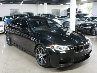 2016 BMW M5 F10 LCI M-DCT Black 7 Speed Sports Automatic Dual Clutch Sedan.