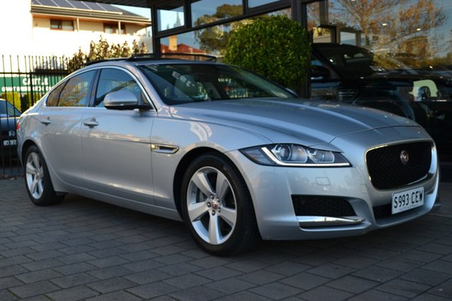 Used Jaguar XF X260 MY16 20d Prestige, 2015 Jaguar XF X260 MY16 20d Prestige Silver Metallic 8 Speed Sports Automatic Sedan