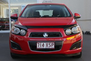2016 Holden Barina TM MY16 CD Red 5 Speed Manual Hatchback