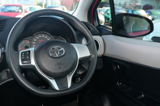 2014 Toyota Yaris NCP130R YR Pink 4 Speed Automatic Hatchback