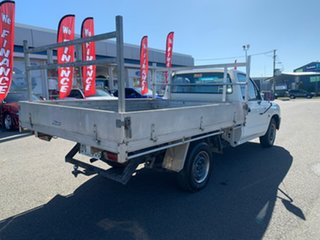 2000 Toyota Hilux Workmate White Manual Cab Chassis - Single Cab