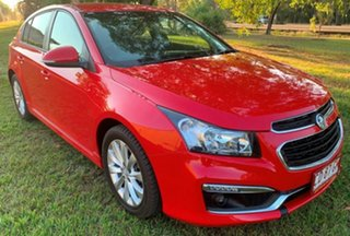 2015 Holden Cruze JH Series II MY15 SRi Red 6 Speed Sports Automatic Hatchback.