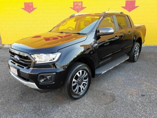 2019 Ford Ranger PX MkIII 2019.00MY Wildtrak Pick-up Double Cab Black 6 Speed Sports Automatic