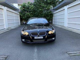 2007 BMW 3 Series E92 335i Steptronic Black 6 Speed Sports Automatic Coupe.