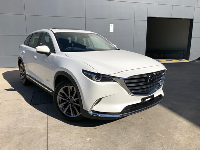 Demo Mazda CX-9 TC Azami SKYACTIV-Drive i-ACTIV AWD, 2019 Mazda CX-9 TC Azami SKYACTIV-Drive i-ACTIV AWD Snowflake White 6 Speed Sports Automatic Wagon