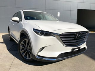 2019 Mazda CX-9 TC Azami SKYACTIV-Drive i-ACTIV AWD Snowflake White 6 Speed Sports Automatic Wagon.