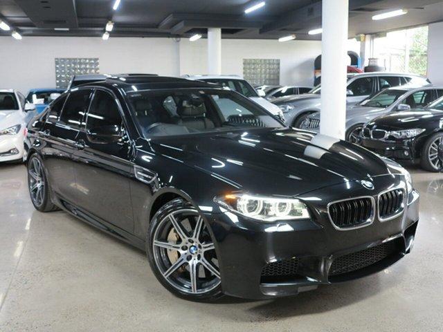 Used BMW M5 F10 LCI M-DCT, 2016 BMW M5 F10 LCI M-DCT Black 7 Speed Sports Automatic Dual Clutch Sedan