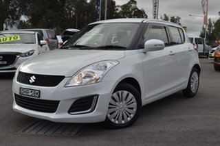 2016 Suzuki Swift FZ GL White Automatic