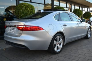 2015 Jaguar XF X260 MY16 20d Prestige Silver Metallic 8 Speed Sports Automatic Sedan