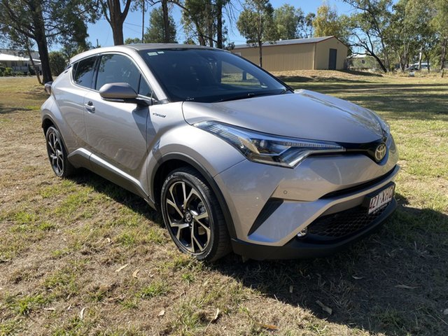 Used Toyota C-HR NGX50R S-CVT AWD, 2017 Toyota C-HR NGX50R S-CVT AWD Shadow Platinum 7 Speed Constant Variable Wagon
