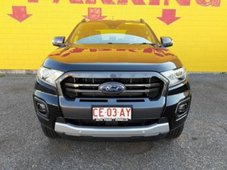 2019 Ford Ranger PX MkIII 2019.00MY Wildtrak Pick-up Double Cab Black 6 Speed Sports Automatic.